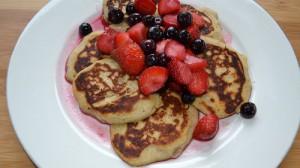 yummy buckwheat pancakes