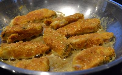 Fish Fingers: grain/gluten free and delicious!