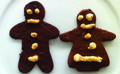 Gingerbread Cookies: Paleo style