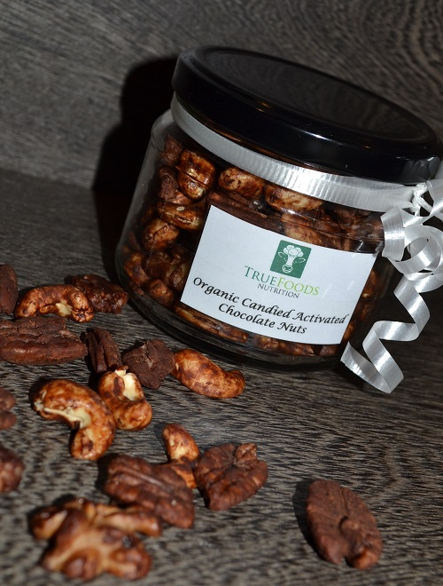 Candied Chocolate Nuts
