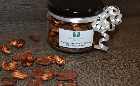 'Candied' Activated Chocolate Nuts