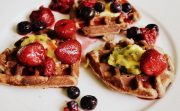 Paleo Waffles to Die For