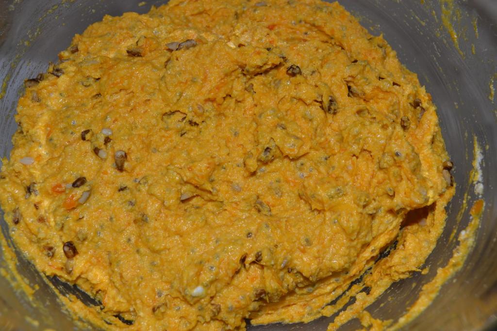 Frittata dough mix