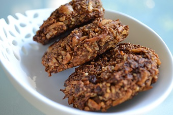 Carrot Coco-Nutty cookies