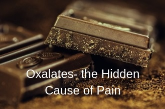 oxalates and pain