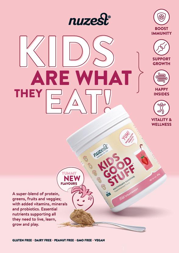 Kids smoothie supplement